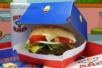 Real life Krusty Burger from The Simpsons