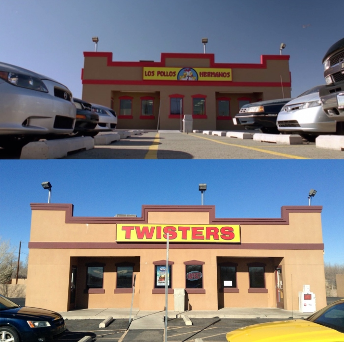 Los Pollos Hermanos and the real-life Twisters