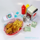 GeekPlate's Los Pollos Hermanos fried chicken: highly addictive
